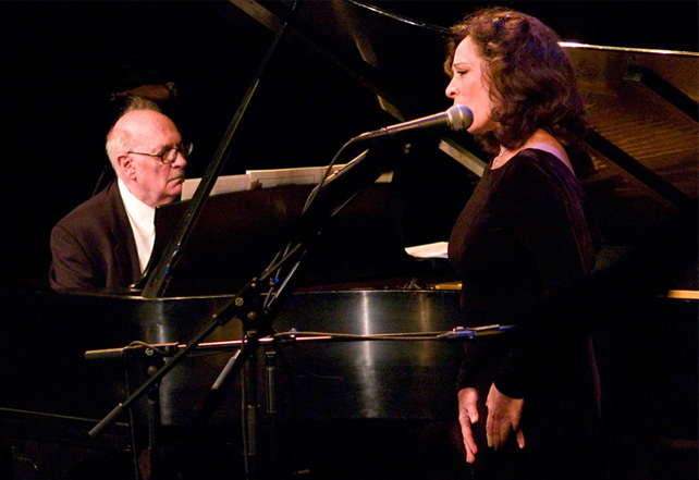 George Crumb and daughter Ann