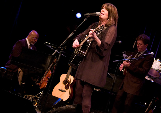 Bob Thompson, Kathy Mattea and Tim O'Brien