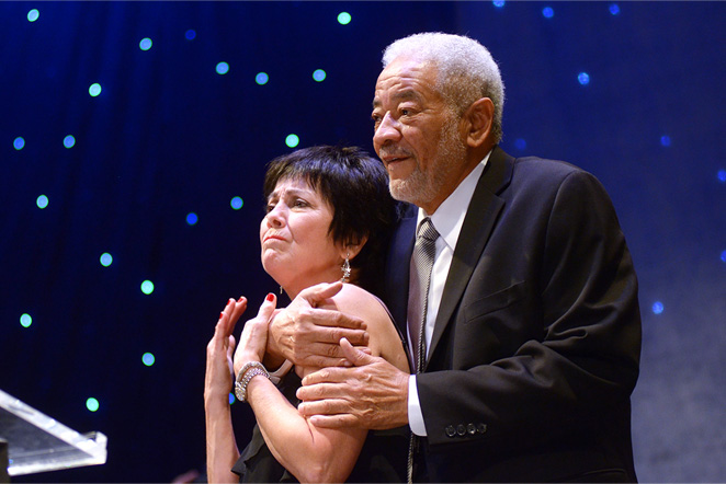 Joyce DeWitt and Bill Withers