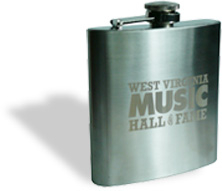 Handy Hall of Fame Flask